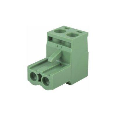 Разъем винтовой 5 мм 2 контакта